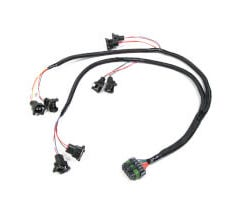 HOLLEY V8 OVER MANIFOLD INJECTOR HARNESS - BOSCH STYLE - 558-200