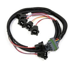 HOLLEY INJECTOR HARNESS - UNIVERSAL - 6 CYLINDER - 558-203