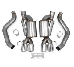 HOOKER BLACKHEART 05-08 CORVETTE AXLE-BACK EXHAUST (W/ MUFFLERS) 70401312-RHKR