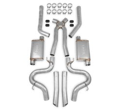 HOOKER BLACKHEART - 1978-87 GM G-BODY EXHAUST SYSTEM - 2.5 IN - 70501363-RHKR