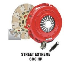 MCLEOD CLUTCH KIT - LS - STREET EXTREME - FOR USE WITH LS1/LS6 FLAT FLYWHEEL - 75357