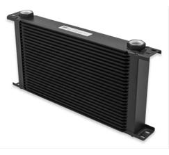 EARLS ULTRAPRO OIL COOLER - 10 ROW - EXTRA WIDE - BLACK - 810ERL