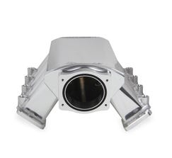 HOLLEY SNIPER INTAKE MANIFOLD - SHEET METAL - 92mm - LS1/LS2/LS6 - SILVER - 820031