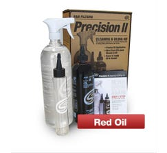 S&B CLEANING AND OIL KIT - PRECISION II - 88-0008