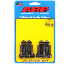 ARP HEX HEAD VALLEY COVER BOLT KIT - LS - BLACK OXIDE - 134-8001