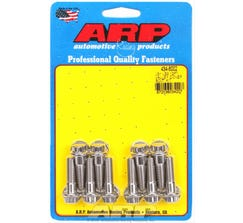 ARP 12-POINT VALLEY COVER BOLT KIT - LS - STAINLESS - 434-8002