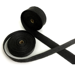 "THERMAL ZERO EXHAUST WRAP - 1/8"" - 2""x25 FEET - BLACK - BL18225"