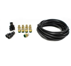 LEASH ELECTRONICS DUAL WASTEGATE LINE AND FITTING KIT - BLKIT2