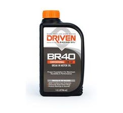 DRIVEN OIL - BR40 - BREAK IN OIL - 1 QUART