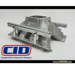 """CID INTAKE MANIFOLD - FOR LSR HEADS - 9.75"""" DECK - 5.0 4500 EFI - CIDBELSR50TDEFI"""