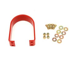 BMR LOOP UPGRADE FOR BMR REAR TUNNEL BRACE - 2005-2014 MUSTANG - RED - DSL012R