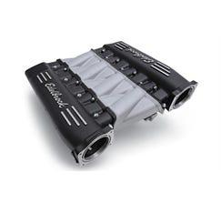 EDELBROCK INTAKE MANIFOLD - CROSS RAM - LS3 - BLACK - 71413