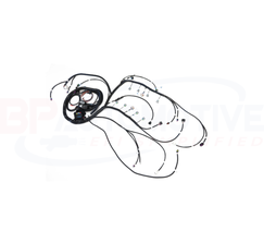BP AUTOMOTIVE STANDALONE HARNESS - 07-14 GEN 4 - 4L80E - SHOWSTOPPER LOOM - H405-SS100