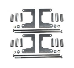 ICT BILLET COIL RELOCATION BRACKETS - HOLLEY 556-112 & AMP EFI IGN-1A - 551588