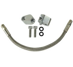 ICT BILLET COOLANT BYPASS HOSE KIT AND STEAM PORT CROSSOVER - LS1 - 551694H