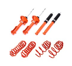 BMR BMR KONI HANDLING PERFORMANCE PACKAGE - LEVEL 1 - 2005-2010 MUSTANG - RED / ORANGE-KHP006R