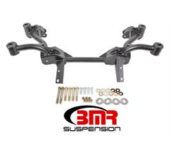 BMR K-MEMBER - NO MOTOR MOUNTS - PINTO RACK MOUNTS - 1982-1992 F-BODY - BLACK - KM006-1H