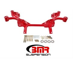 BMR K-MEMBER - NO MOTOR MOUNTS - PINTO RACK MOUNTS - 1982-1992 F-BODY - RED - KM006-1R