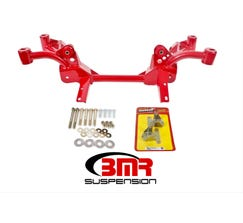 BMR K-MEMBER - SBC/BBC MOTOR MOUNTS - PINTO RACK MOUNTS - 1982-1992 F-BODY - RED - KM007-1R