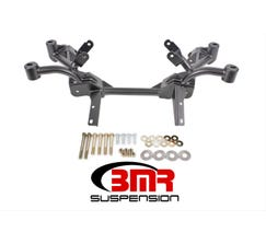 BMR K-MEMBER - LS1 MOTOR MOUNTS - PINTO RACK MOUNTS - 1982-1992 F-BODY - BLACK - KM008-1H
