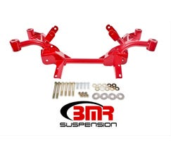 BMR K-MEMBER - LS1 MOTOR MOUNTS - PINTO RACK MOUNTS - 1982-1992 F-BODY - RED - KM008-1R