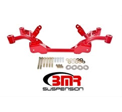 BMR K-MEMBER - LS1 MOTOR MOUNTS - STANDARD RACK MOUNTS - 1982-1992 F-BODY - RED - KM008R