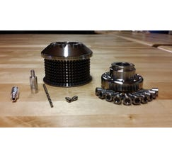 "CORDES PERFORMANCE SUPERCHARGER PULLEY AND HUB - LSA - 2.35"" - LSA235KIT"