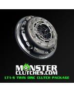 MONSTER CLUTCH KIT - 10-15 CAMARO SS/Z28 - TWIN DISC - LT1-S - BASIC KIT - STANDARD WEIGHT FW - 700HP