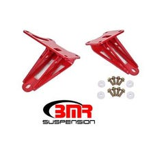 BMR MOTOR MOUNT BRACKETS - 2011-2017 MUSTANG - RED - MM008R