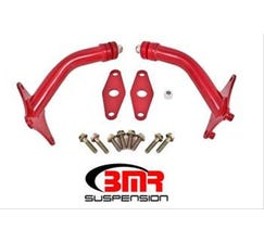 BMR MOTOR MOUNT KIT WITH INTEGRATED STANDS - POLY BUSHINGS - 2016-2017 CAMARO - RED - MM010R