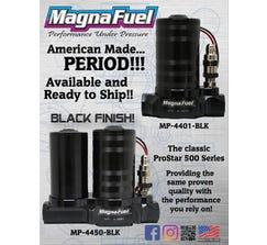 MAGNAFUEL FUEL PUMP KIT - PRO STAR 500 - CARB - BLACK - MP-4401-BLK