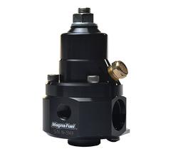 MAGNAFUEL FUEL PRESSURE REGULATOR - QUICKSTAR - EFI - 18-50 PSI - MP-9925-C-BLK