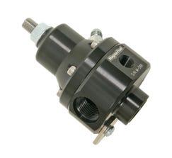 MAGNAFUEL FUEL PRESSURE REGULATOR - PROSTAR - BOOST REFERENCE - EFI - 35-85 PSI - BLACK - MP-9950-B-BLK