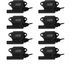 MSD PRO POWER GM LS2/LS7 IGNITION COILS - 8 PACK - 828783