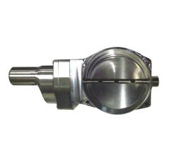 NICK WILLIAMS THROTTLE BODY - BILLET - 102mm - DBC - NATURAL - NW/102/CABLE/NAT