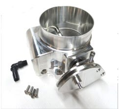 NICK WILLIAMS THROTTLE BODY - BILLET - 92mm - DBC - NATURAL - NW/92/CABLE/NAT
