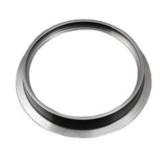 PRECISION GT42/GT45/GT47/GT55 ALUMINUM COMPRESSOR DISCHARGE FLANGE AND CLAMP -074-3042