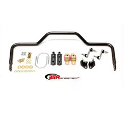 "BMR SWAY BAR KIT - REAR - PRO-TOURING STYLE - HOLLOW - 1.125"" - 1964-1972 A-BODY - BLACK - SB035H"