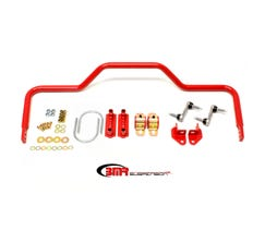 "BMR SWAY BAR KIT - REAR - PRO-TOURING STYLE - HOLLOW - 1.125"" - 1964-1972 A-BODY - RED - SB035R"
