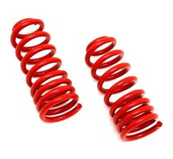 "BMR LOWERING SPRINGS - FRONT - 1.25"" DROP - 1993-2002 F-BODY - RED - SP002R"