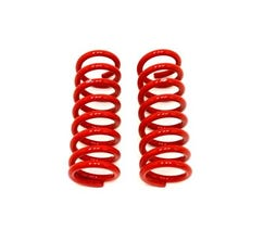 "BMR LOWERING SPRINGS - FRONT - 1"" DROP - 1964-1972 A-BODY - RED - SP013R"