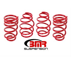 "BMR LOWERING SPRING KIT - SET OF 4 - 1"" DROP - V8 - 2010-2015 CAMARO - RED - SP019R"
