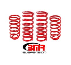 "BMR LOWERING SPRING KIT - SET OF 4 - 1"" DROP - 1979-2004 MUSTANG - RED - SP027R"