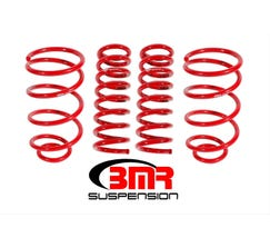"BMR LOWERING SPRING KIT - SET OF 4 - 1"" DROP - 1964-1966 A-BODY - RED - SP032R"
