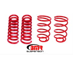 "BMR LOWERING SPRING KIT - SET OF 4 - 2"" DROP - 1964-1966 A-BODY - RED - SP033R"