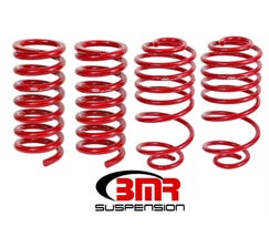 "BMR LOWERING SPRING KIT - SET OF 4 - 1.5"" DROP - 1978-1987 G-BODY - RED - SP035R"