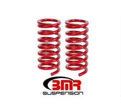 "BMR LOWERING SPRINGS - FRONT - 1.25"" DROP - 1982-1992 F-BODY - RED - SP036R"
