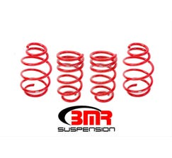 "BMR LOWERING SPRING KIT - SET OF 4 - 1.25"" DROP - V8 - 2010-2015 CAMARO - RED - SP077R"