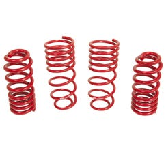 "BMR LOWERING SPRING KIT - SET OF 4 - 1.25"" DROP - HANDLING VERSION - 1993-2002 F-BODY - RED - SP090R"
