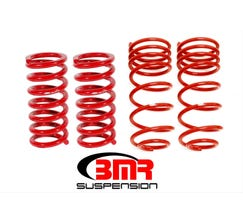 "BMR LOWERING SPRING KIT - SET OF 4 - 1.25"" DROP - 1982-1992 F-BODY - RED - SP096R"